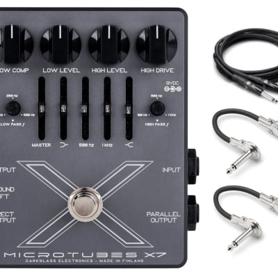 New Darkglass Microtubes X7 Bass Distortion Pedal!!