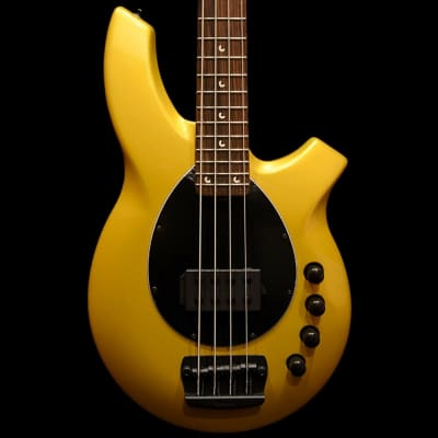 Music Man Bongo 4 H Bass Guitar in Firemist Gold for sale