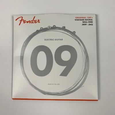 Fender Original 150's Vintage Nickel Guitar Strings, .009-.042