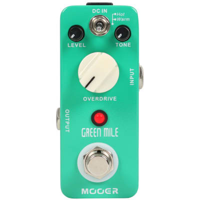 Mooer Green Mile Overdrive for sale