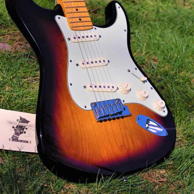 Fender Deluxe American Standard Stratocaster 2011 2 tone sunburst for sale