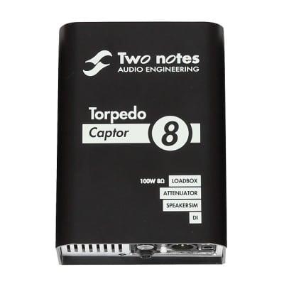 Two Notes Torpedo Captor Loadbox/Attenuator/DI - 8 Ohm