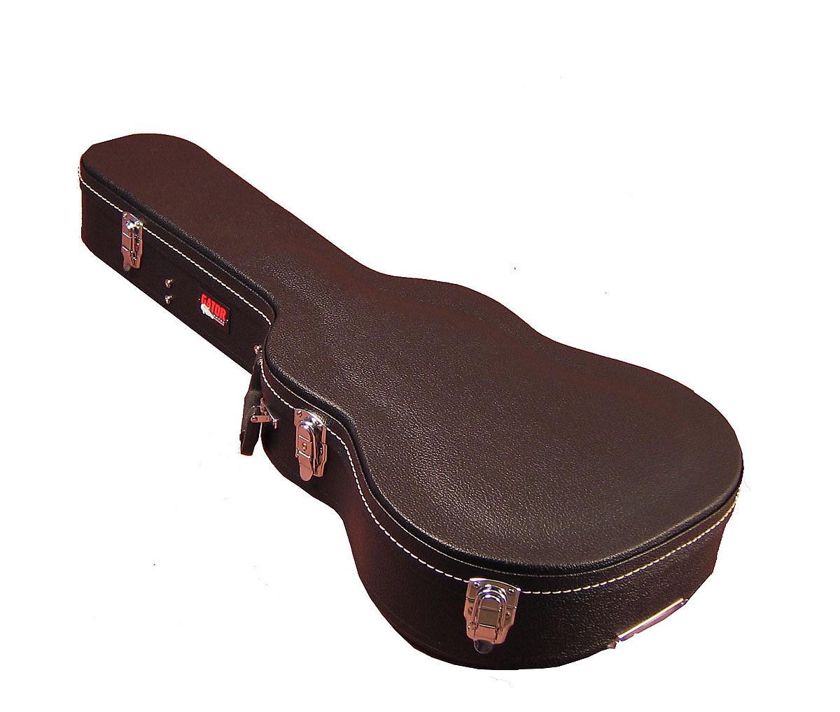 gator gwe acou 3 4 economy wood 3 4 size acoustic guitar case reverb. Black Bedroom Furniture Sets. Home Design Ideas