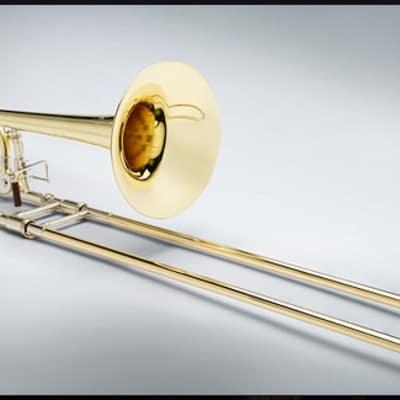 Shires Q Series Tenor Trombone - Rotor Valve and Yellow Brass Bell
