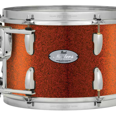 "Pearl Music City Custom 10""x8"" Masters Maple Reserve Series Tom Drum w/optimount MRV1008T - Burnt Orange Glass"