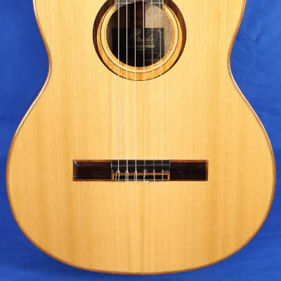 Merida Trajan T-15 Solid Cedar Top Classical Nylon Acoustic Guitar for sale