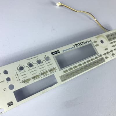 Korg Triton Rack front panel housing casing only