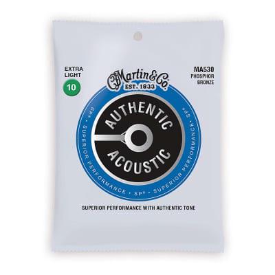 Martin Acoustic Strings 92-8 Phosphor Bronze - Ex. Light 10-14-23-30-39-47