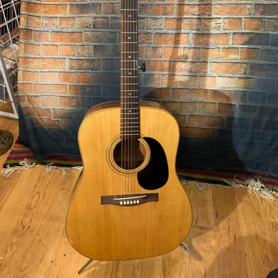 Giannini Acoustic Guitar-Natural Wood Finish for sale