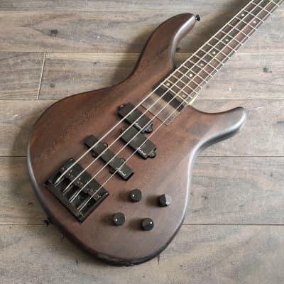 1990's Aria Pro II IGB-50 Integra Active PJ Bass Guitar (Mahogany) for sale