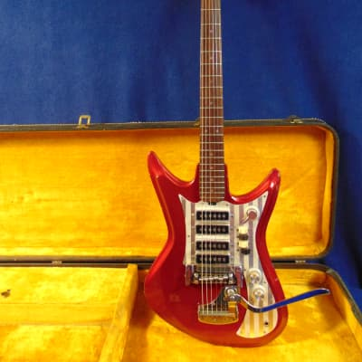 Teisco ET-460 K4L 1965 - 1969 Red for sale