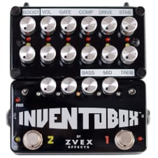 ZVex Inventobox Fuzz Factory Super Hard On & Tone Stack Effects Pedal