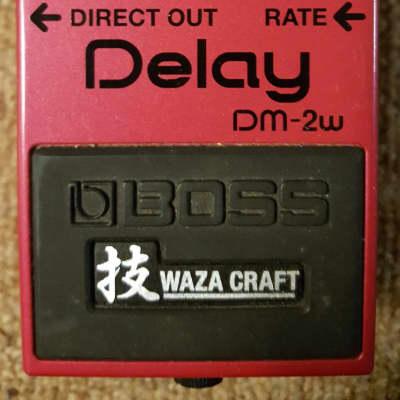 Boss DM-2W Delay Waza Craft image