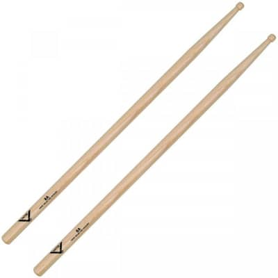 Vater VH8AW 8A American Hickory Wood Tip Drum Sticks