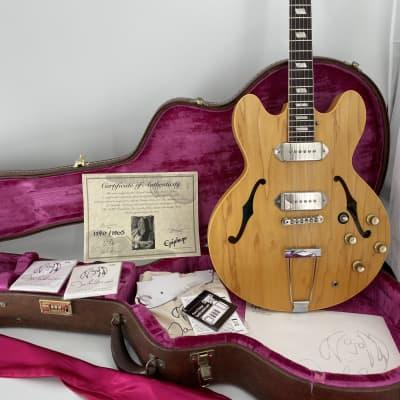 Epiphone John Lennon Limited Edition Revolution USA Casino 1190/1965 for sale