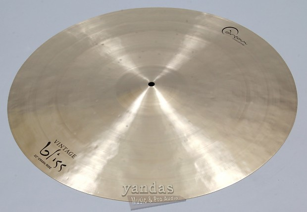 dream cymbals vintage bliss crash ride cymbal 22 inch reverb. Black Bedroom Furniture Sets. Home Design Ideas