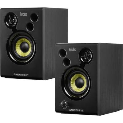 Hercules DJ MONITOR 32 3 Inch, 60 watt DJ monitor pair