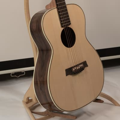 Handmade Portland Guitar OM from Bolivian Rosewood and Adirondack Spruce  with Case for sale