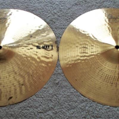 1980s Pearl 14'' Hi-Hat Cymbals