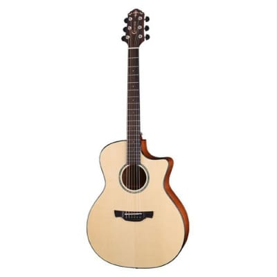 Crafter K GXE 600 ABLE Grand Auditorium Electro-Acoustic Guitar Natural for sale