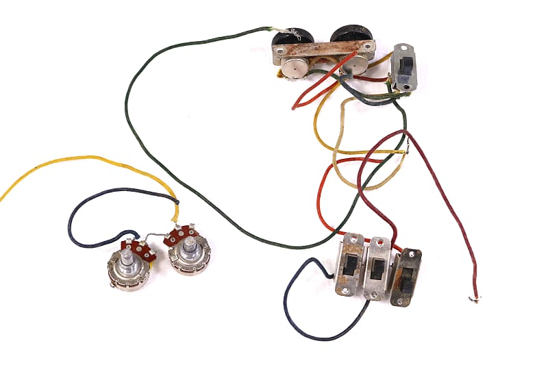 1963 Fender Jaguar Wiring Harness