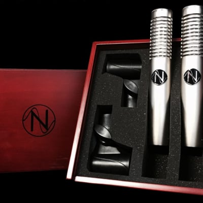 NOS Audio Panther MK2 Active Ribbon Microphone Stereo Matched Pair