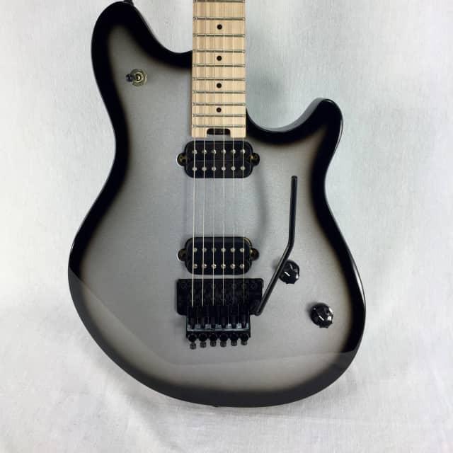 EVH Wolfgang Standard Guitar Maple Fingerboard Silverburst DEMO! image