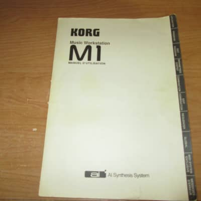 Korg M1   Sound Programming