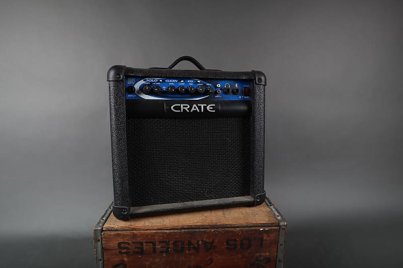 crate xt15r 15w guitar practice combo amp reverb. Black Bedroom Furniture Sets. Home Design Ideas