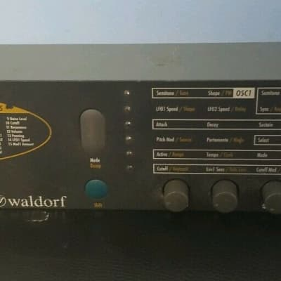 Waldorf Pulse Synthesizer Synth Keyboard Rackmount Unit - Free Priority Shipping