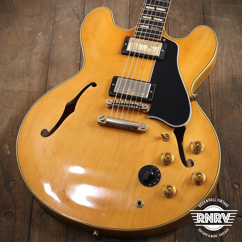 2014 Gibson Custom Shop ES-345 Mono Natural Blonde ES45H14VNGH1