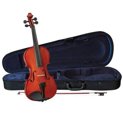 Menzel MDN600VF 4/4 Size Violin Kit in Natural Finish