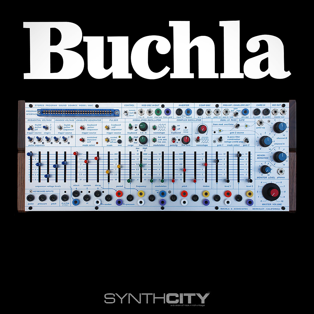 Buchla 208c Easel Command Station