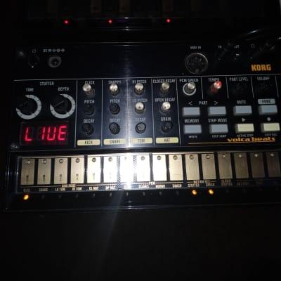 Korg Volca Bundle (Modular, Bass, Beats, Drum, 24 Eneloop batteries, 12 bay charger, 2 9v supplies)