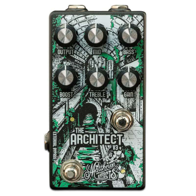 Matthews Effects Architect V3 Foundational Overdrive/Boost Effects Pedal