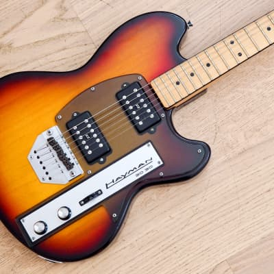 1974 Hayman 3030 Vintage Solidbody Electric Guitar Sunburst 100% Original UK-Made, Burns for sale