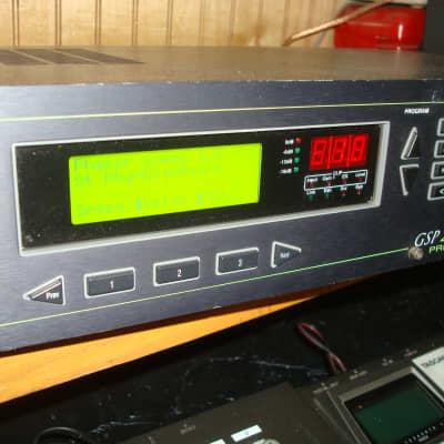 Digitech GSP 2101 guitar studio effect tube preamp processor