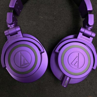 Audio-Technica ATH-M50x Headphones PURPLE