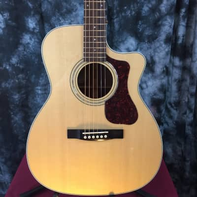 Guild Westerly OM-140CE w/ Solid Sitka Spruce Top  Solid African Mahogany Back-Sides #43958 for sale