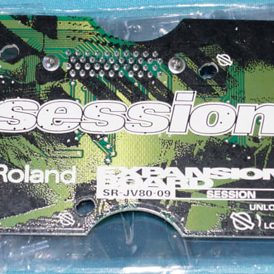 Roland SR-JV80-09 Session Expansion Board for JV XV Synthesizers