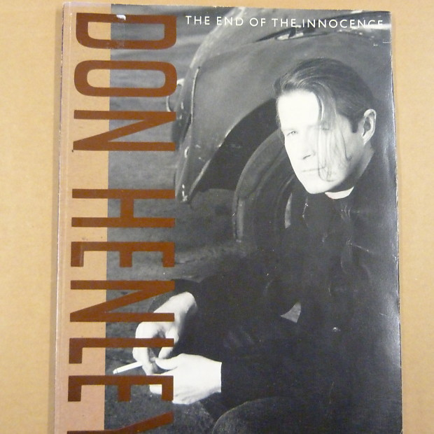 Songbook Don Henley The End Of The Innocence 1989 Vocal Reverb