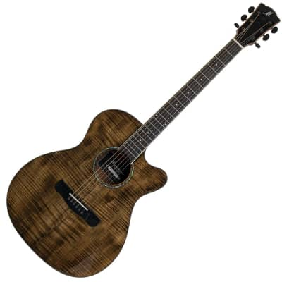 Merida Extrema OMCE Ltd. Ed. Electro Acoustic Guitar - Brown for sale