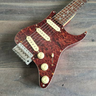 2013 Grassroots (by ESP) GR-PGG Pickguard Stratocaster (Candy Apple Red) for sale