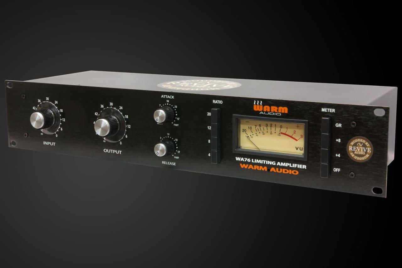 revive audio modified warm audio wa76 fet compressor reverb. Black Bedroom Furniture Sets. Home Design Ideas