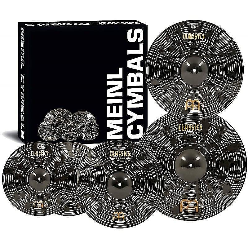 "Meinl CCD460+18 Classics Custom Dark Cymbal Pack w/ FREE 18"" Crash"