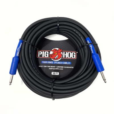 Pig Hog PHSC50 8mm Speaker Cable, 50ft (14 gauge wire)