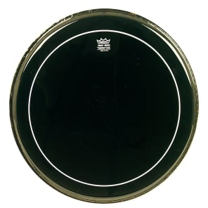 Remo Pinstripe Ebony Bass Drum Head 22""