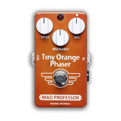 Mad Professor BJF Design Hand-Wired Tiny Orange Phaser for sale