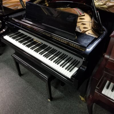 "Baldwin M 5'2"" Grand Piano 1998 Polish Black Ebony"