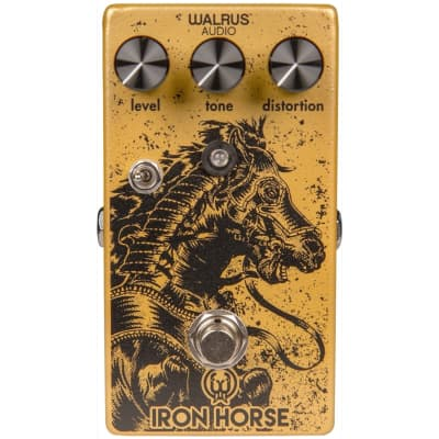 Walrus Audio Iron Horse V2 Distortion Pedal for sale